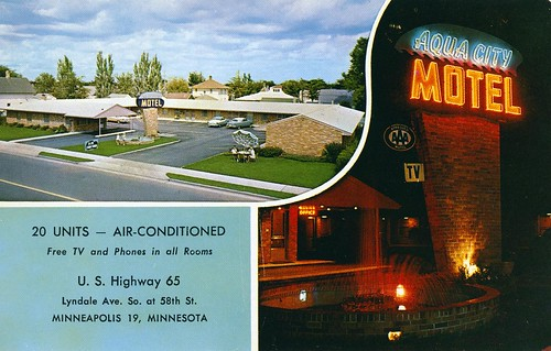 Aqua City Motel Minneapolis MN | by Edge and corner wear