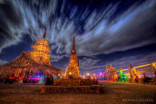 A place to let it go - The temple at Burning Man | by MDSimages.com