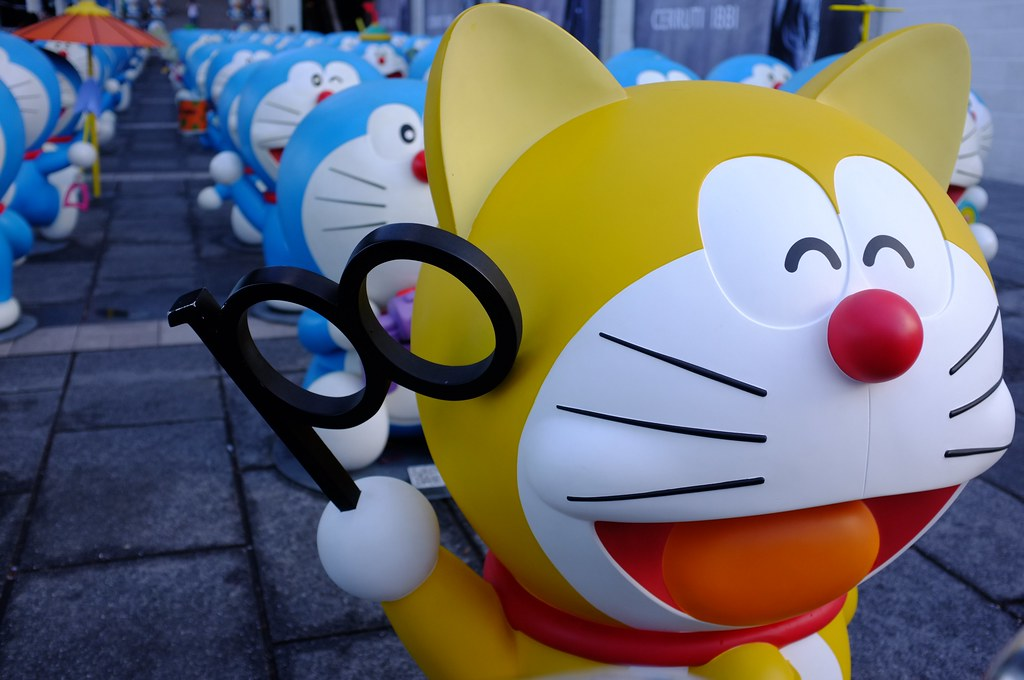 Yellow Doraemon (2112) | This was his original look, 100