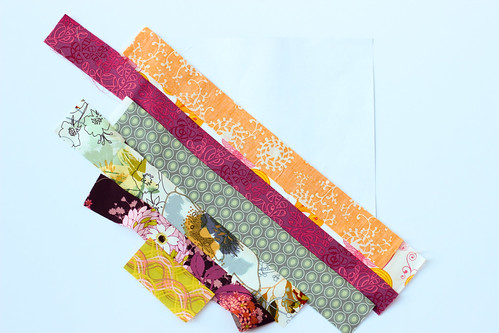Paper Pieced Diagonal Stripes | by Jeni Baker
