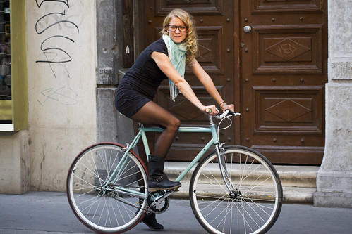 Budapest Cycle Chic Fashion Show | by Mikael Colville-Andersen