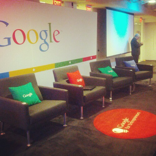 "Eager to see what ""Google for Entrepreneurs"" means... 