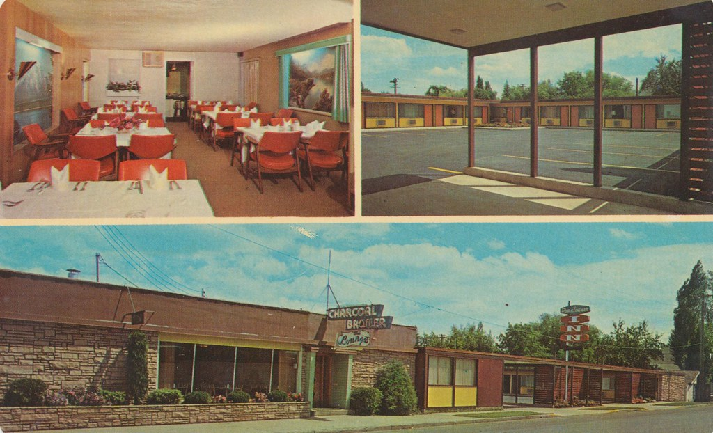 Downtowner Inn and Charcoal Broiler - Grangeville, Idaho