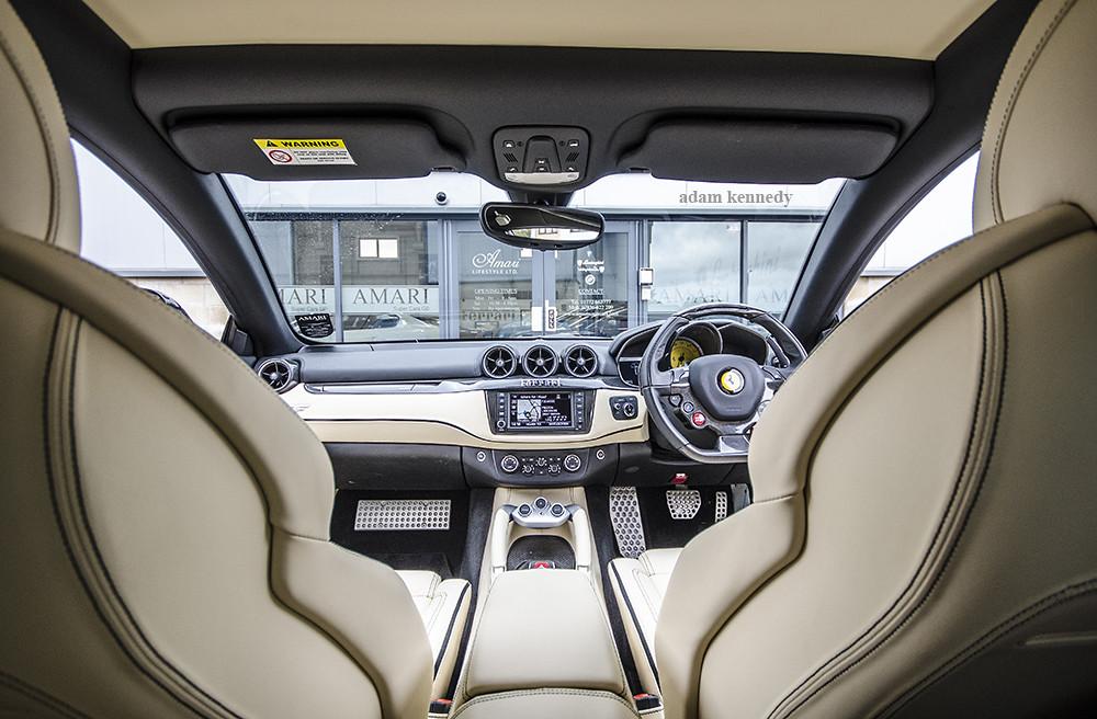 ... Ferrari FF Interior | By Adam Kennedy Photography