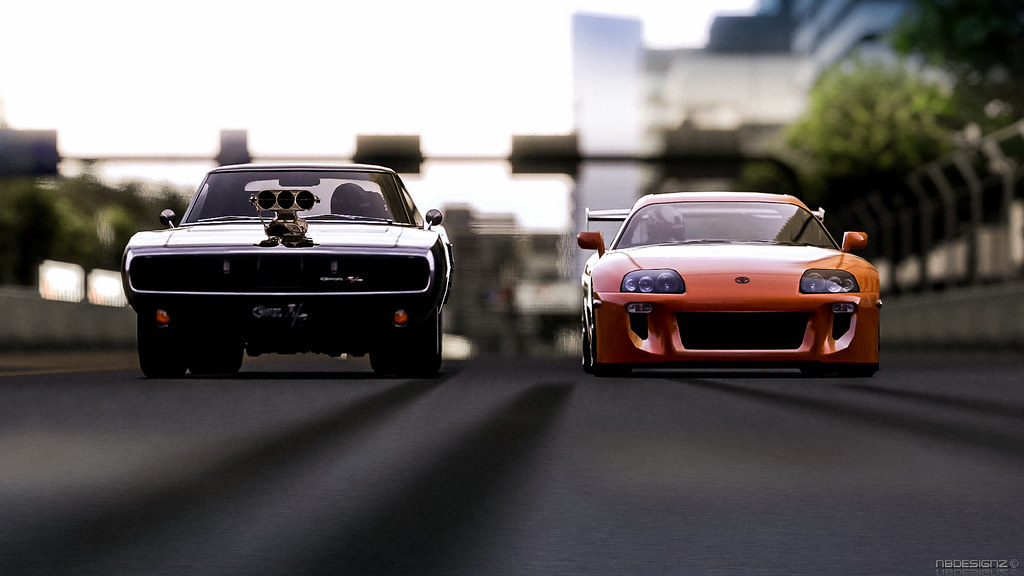 Supra Vs Charger >> Charger vs Supra front | Gran Turismo 5 | Nicolas | Flickr
