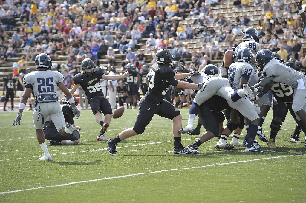 Football Vs Lincoln Emporia State Improved Its Record To