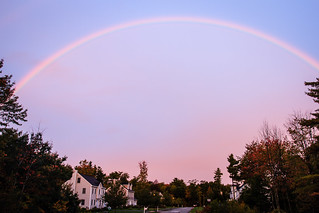 Rainbow at the end of my street | by Tom Whitney Photography