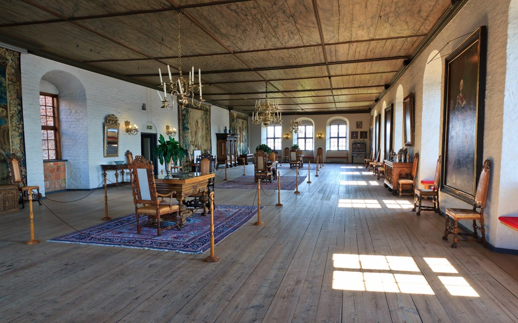 Inside Akershus Castle Fortress In Oslo The Hall Of King