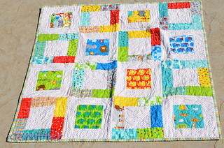 Jungle Bungle Easy Baby Quilt | by Jenniffier