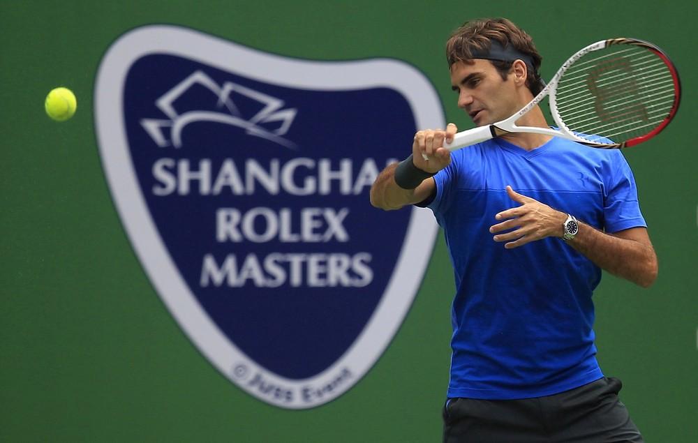 Image result for federer shanghai