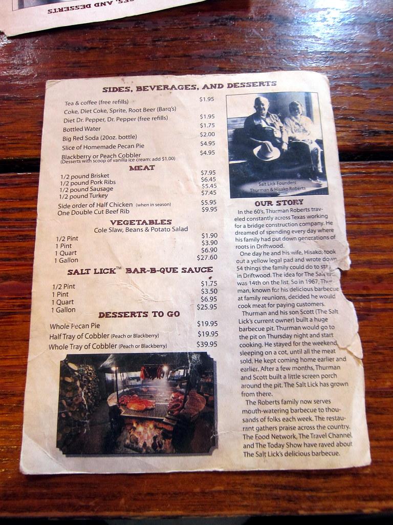 Driftwood Restaurant Menu Murrells Inlet Sc