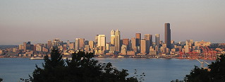 Seattle Skyline From Admiral  Viewpoint, 6:00 p.m. | by JoeInSouthernCA