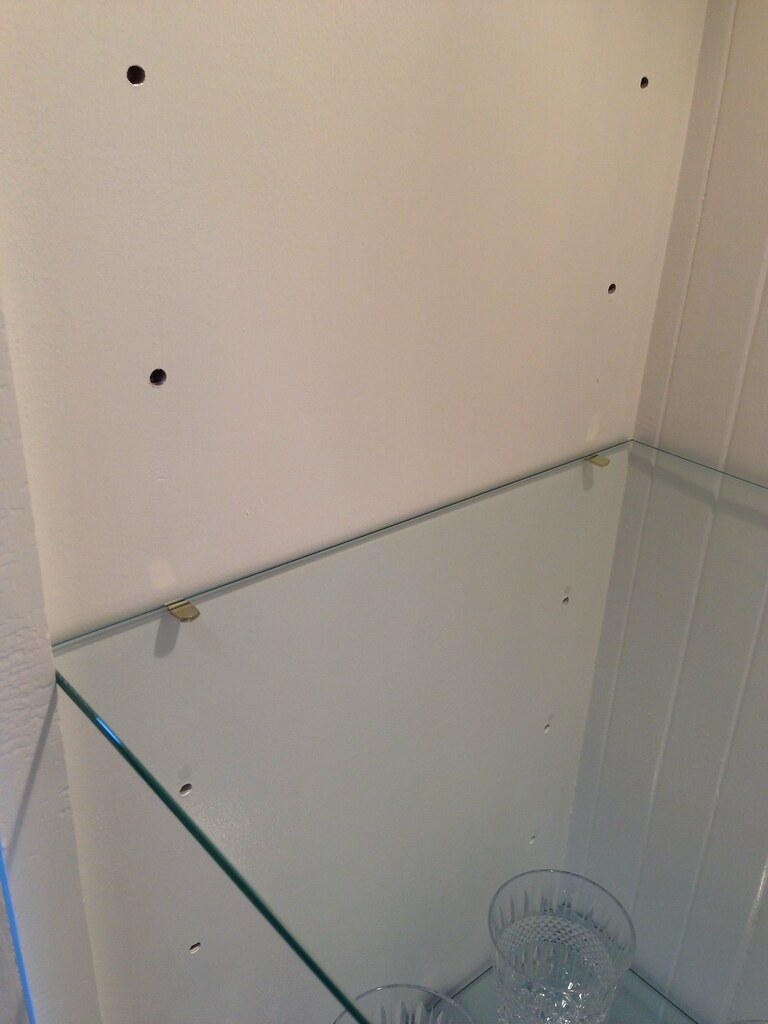 Adjustable Glass Shelf Supports