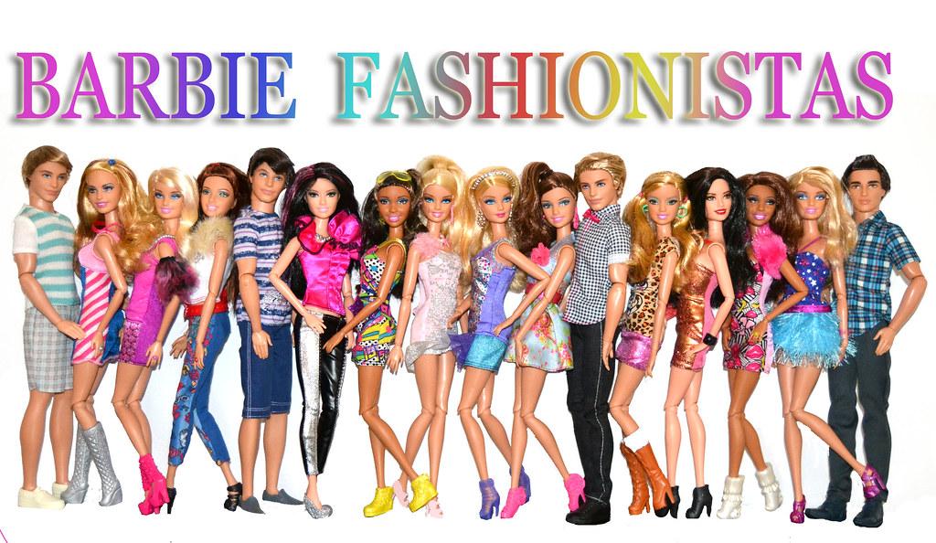 2012 Collection Barbie Barbie Fashionistas 2012