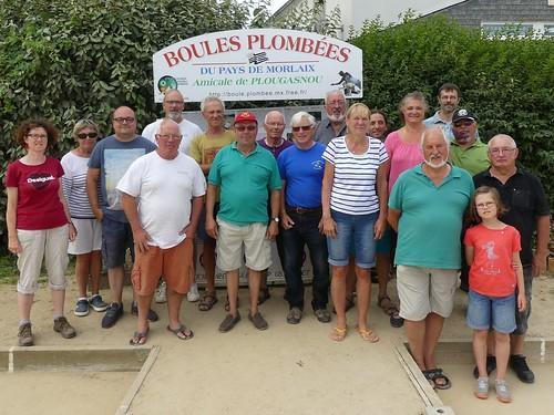 17/08/2016 - Plougasnou : 7ème séance d'initiation gratuite aux boules plombées