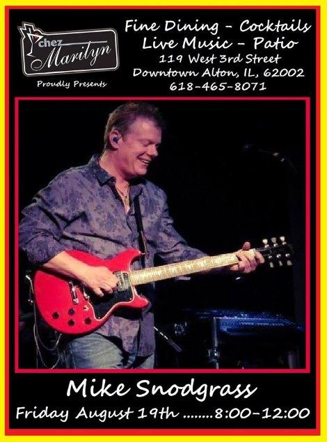 Mike Snodgrass 8-19-16