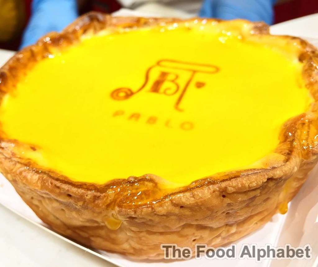 The Food Alphabet And More Pablo World Famous Osaka Cheese Tart Sabrel Black