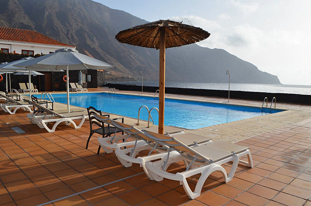 Swimming pool, Parador, El Hierro, Canary Islands