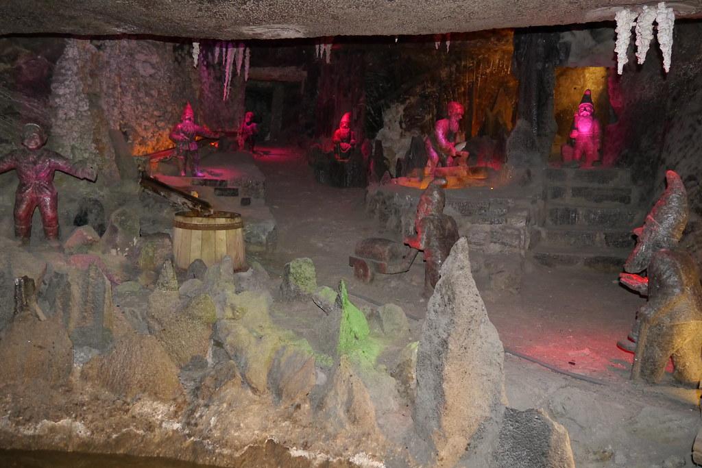 Enanitos en la mina de sal