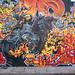 Burner wall - Ghostrider