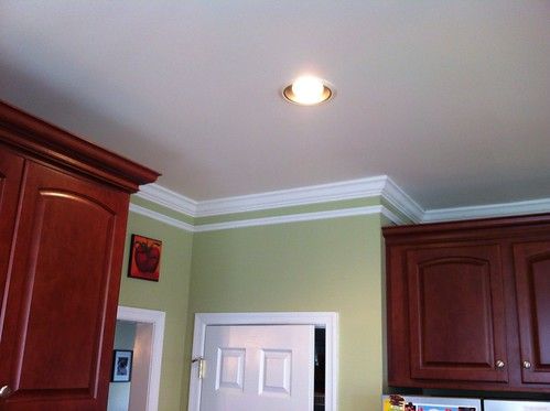 Crown Molding Over Kitchen Cabinets Two Piece Crown