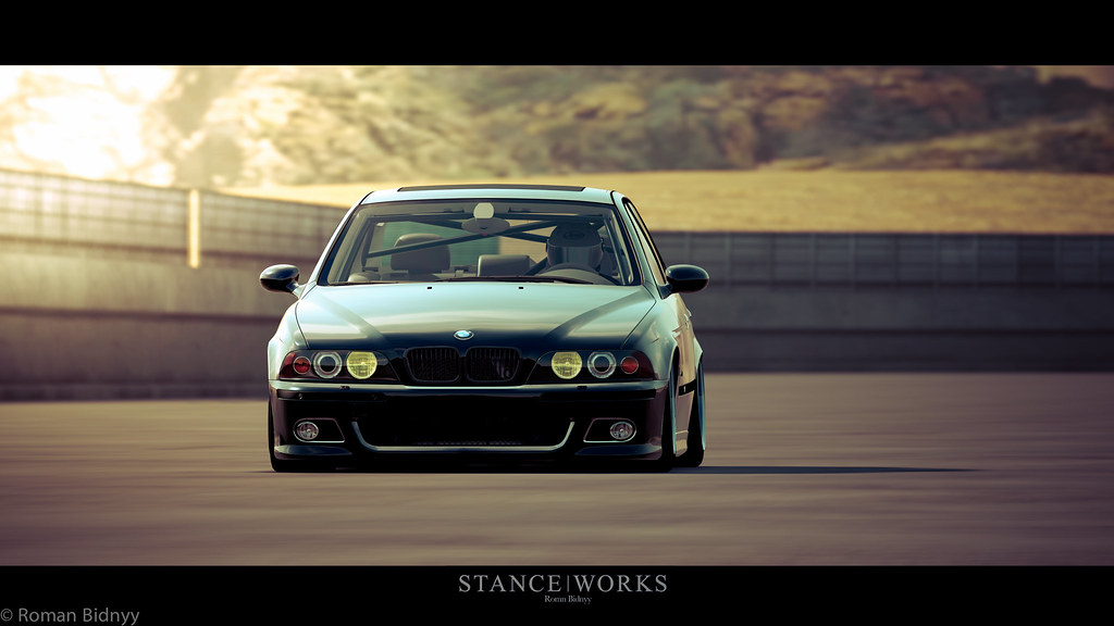 Bmw M5 E39 Stance Works Forza Motorsport 4 Screen Edited