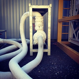 "The ""ice"" pump for #nzice #nzicefest #chch ... ie. just chilling 