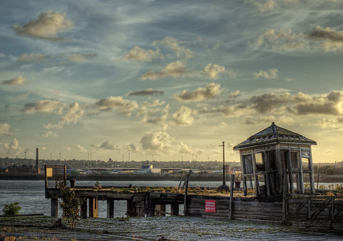 A decaying wharf in Liverpool | by neilalderney123