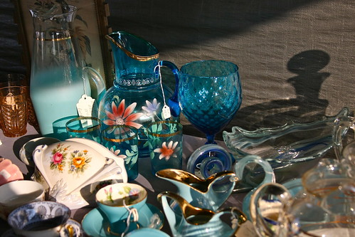 Blue Glassware | by Curiouser*Curiouser