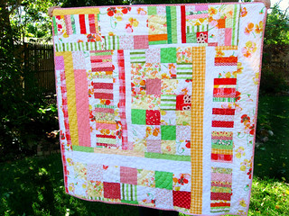 Sweetie Peach Quilt | by quirky granola girl
