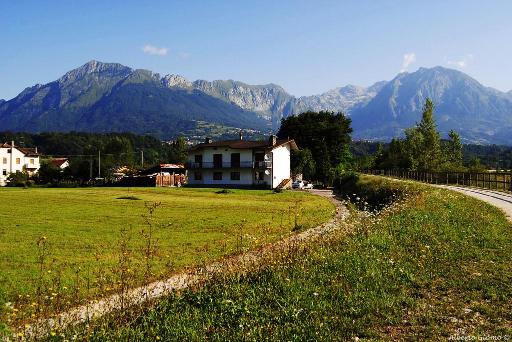 Monti dell'Alpago, da Farra D'Alpago Belluno. Alpago