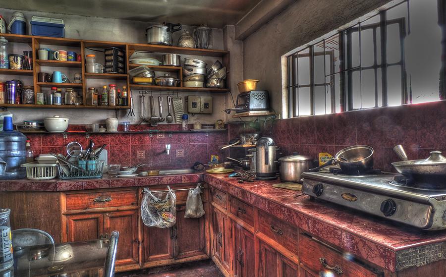 dirty kitchen | HDR image | nani nebres | Flickr