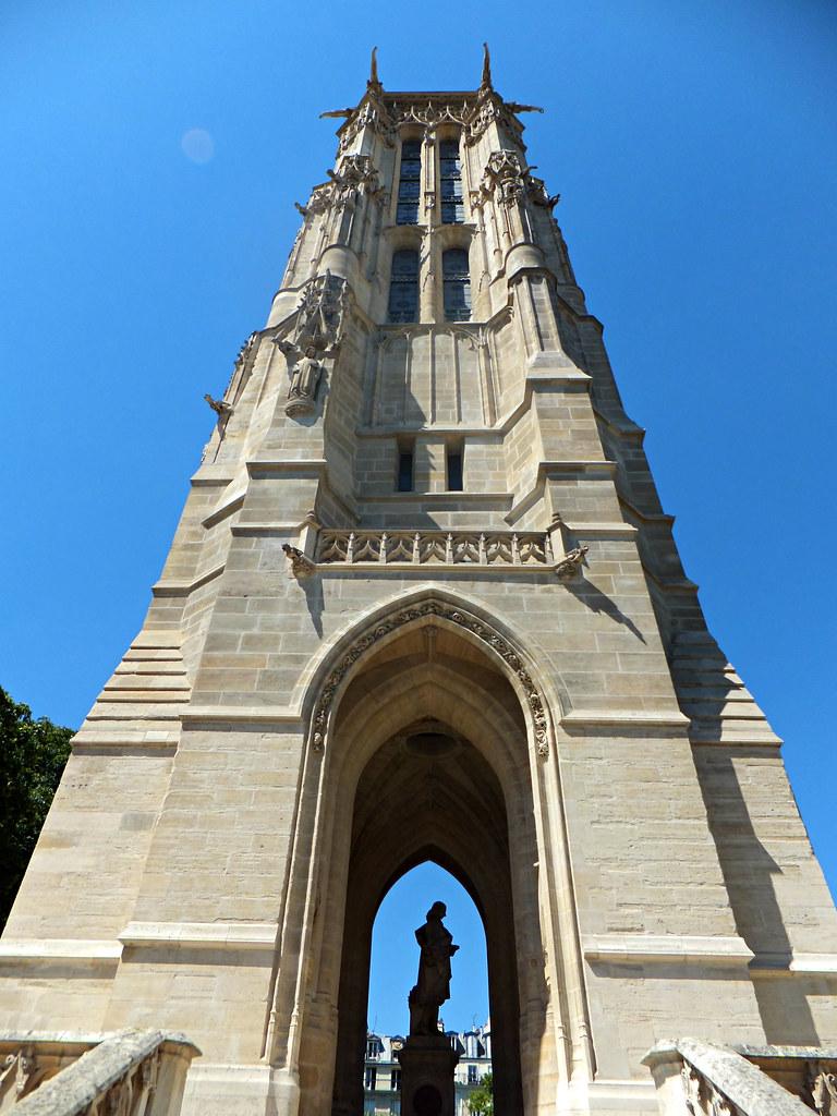 la tour saint jacques paris france st jacques tower th flickr. Black Bedroom Furniture Sets. Home Design Ideas