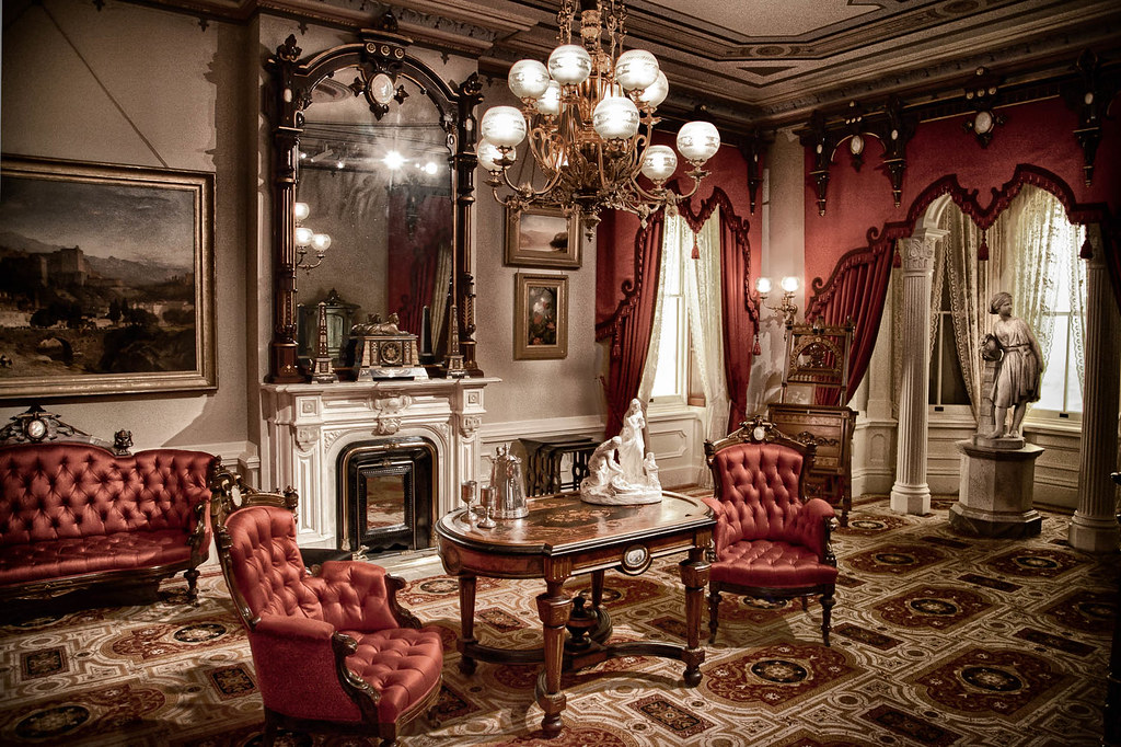 American Victorian Living Room