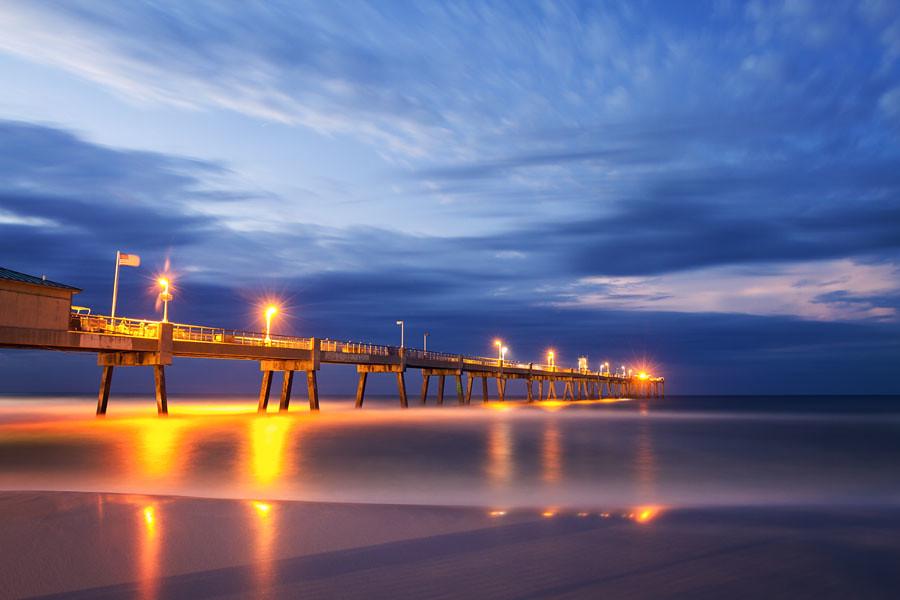 Okaloosa island fishing pier ft walton beach florida flickr for Destin fl fishing report