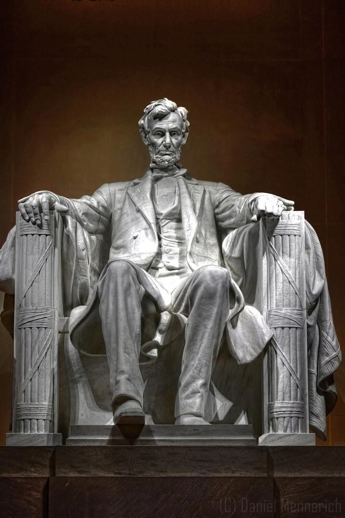 Washington D C Lincoln Memorial Abraham Lincoln Statue