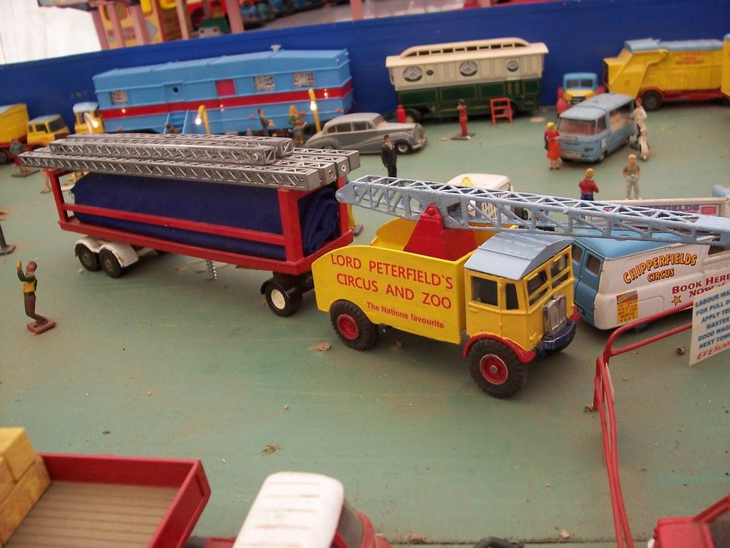 Code3 Circus Transport Model Trucks