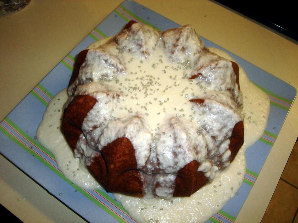 Margarita Bundt Cake With Tequila Glaze