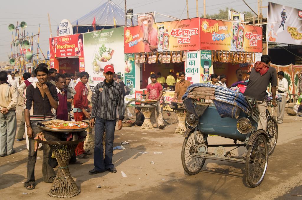 Comida de carretera India