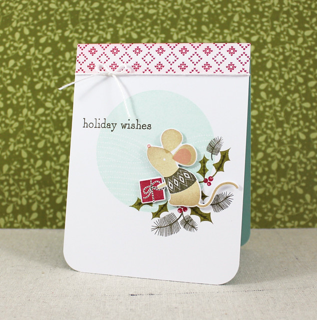 Holiday Mouse Card