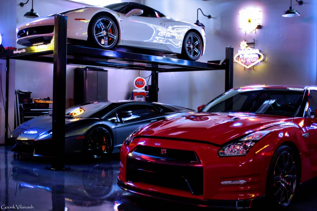 Supercar Dream Garage Goonk Vilaivanh Flickr