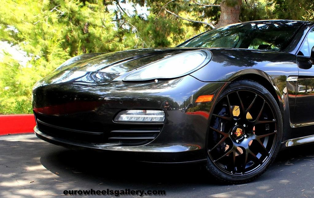 22 Inch Avant M310 Mesh Wheels Black On Panamera Wheelpal