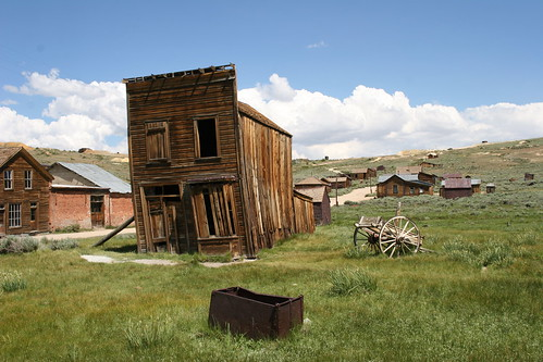 Abandoned Gold Rush Building, Bodie, California | by travfotos