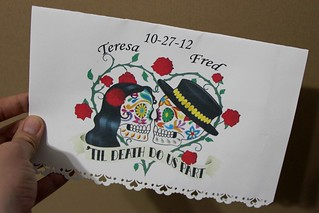 Invitation to a Day of the Dead Wedding | by StarsApart