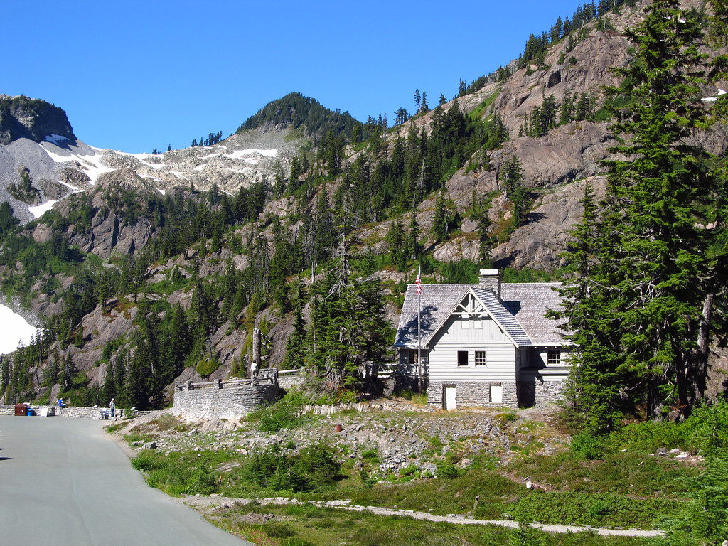 Heather Meadows Constructed As A Warming Hut By The