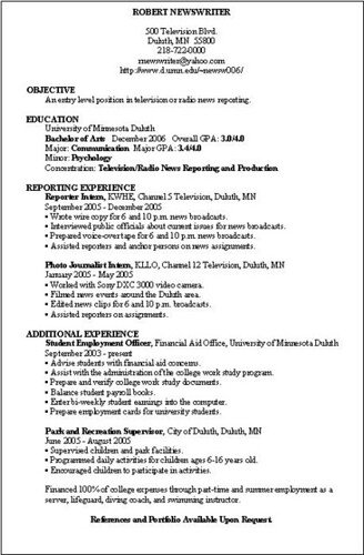 Resume Writing Template | by resumewritinghelp