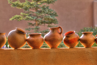 Pots on a wall | by Lindell Dillon