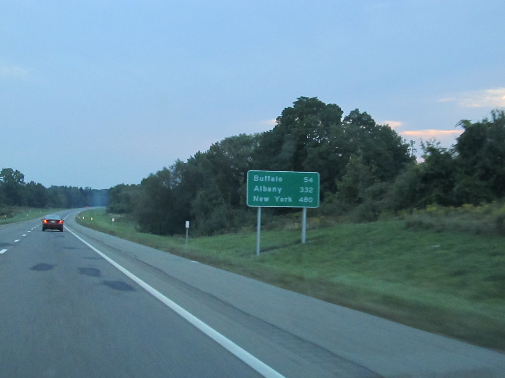54 Miles to Buffalo, New York, I-90 Eastbound | Interstate ...