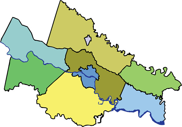 Richmond Region Map no names600px This