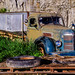 Old International Hopper Farm Truck
